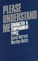 Character and Temperament Types: Please Understand Me