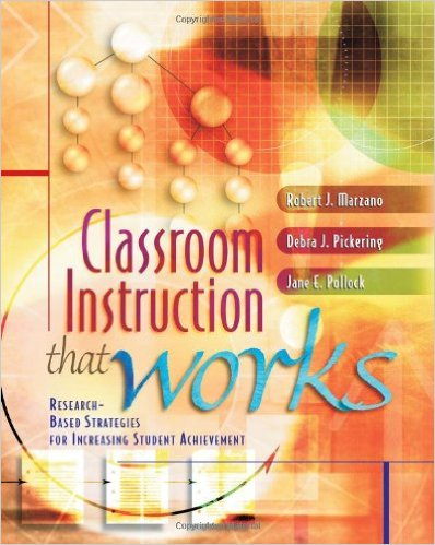 Classroom instruction that works: research-based strategies for.